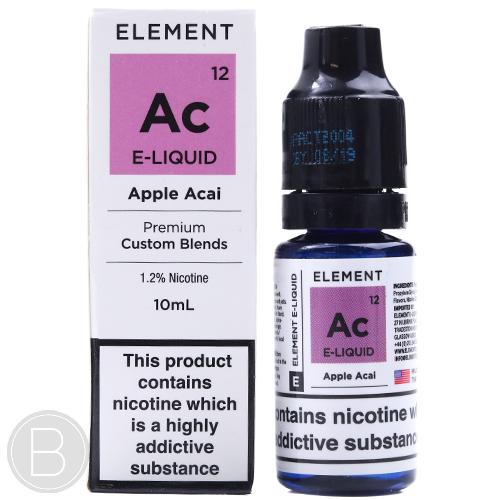 Element - Apple Acai - Traditional 50/50 Series - BEAUM VAPE