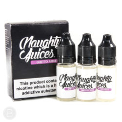 Naughty Juices - Ghetto Juice 30ml (3 x 10ml) eliquid
