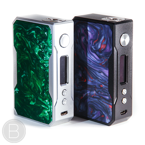 VooPoo Drag Mod 157W Black & Silver Resin