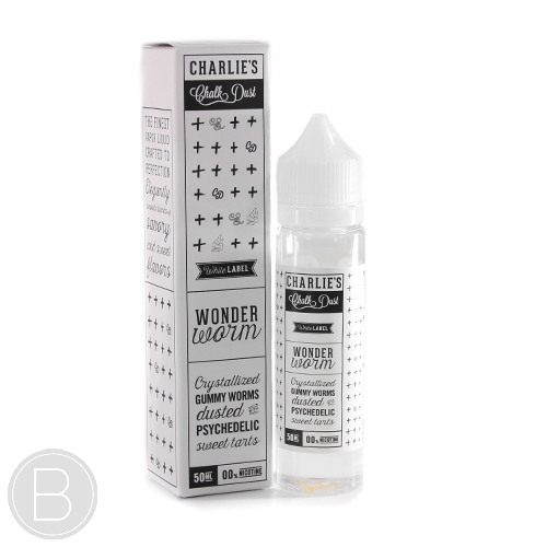 Wonder Worm - Charlie's Chalk Dust - 50ml E-Liquid