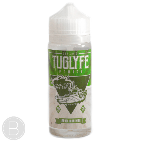 Tug Lyfe - Leprechaun Milk - 0mg 100ml Short Fill eLiquid