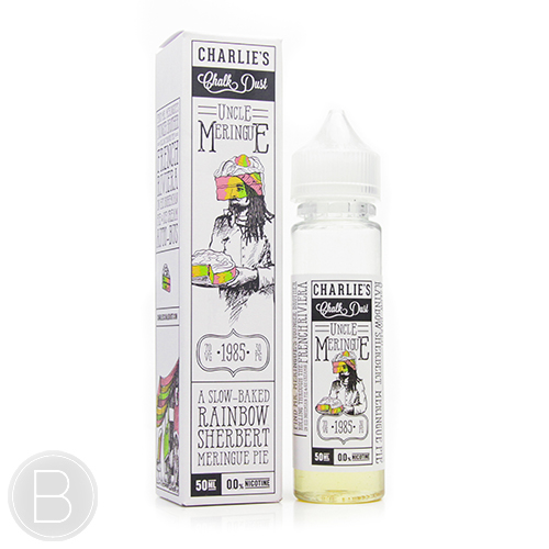 Charlies Chalk Dust - Uncle Meringue - 0mg - 50ml Short Fill eLiquid