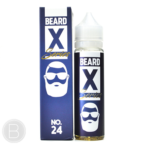Beard Vape Co X Series - No. 24 - 50ml Short Fill - 0mg E-liquid