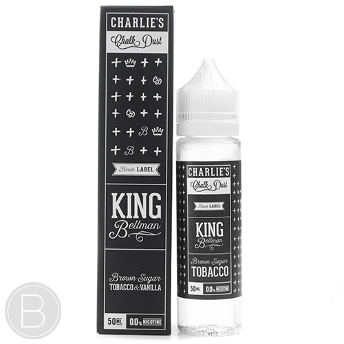 Charlies Chalk Dust -King Bellman - 50ml E-Liquid - 0mg Short Fill