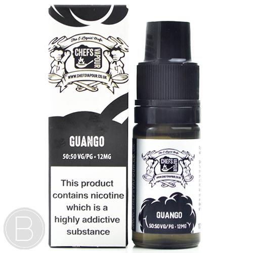 Chefs Vapour - Guango 50/50 - 10ml E-Liquid