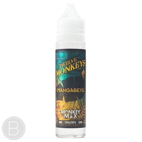 Twelve Monkeys - Mangabeys - 50ml 0mg Short Fill E-Liquid