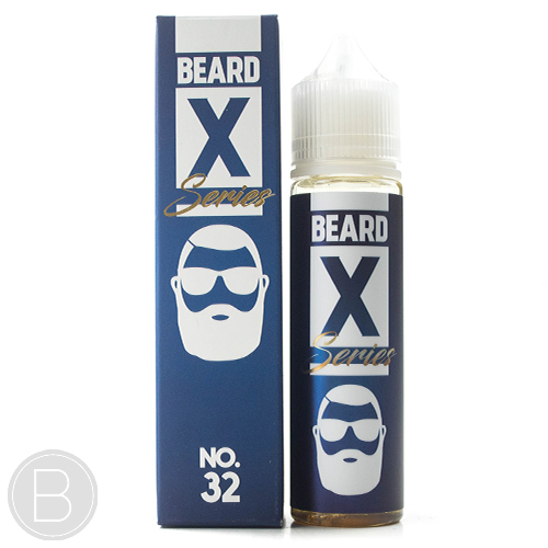 Beard Vape Co X Series - No. 32 - 50ml Short Fill - 0mg E-liquid
