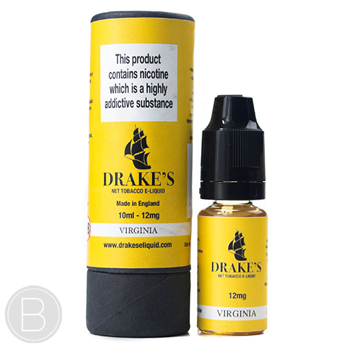Drakes E-liquid - Virginia Tobacco - 10ml E-Liquid