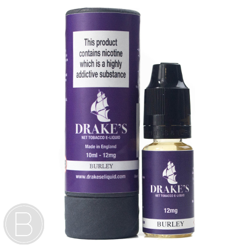 Drakes E-liquid - Burley Tobacco - 10ml E-Liquid