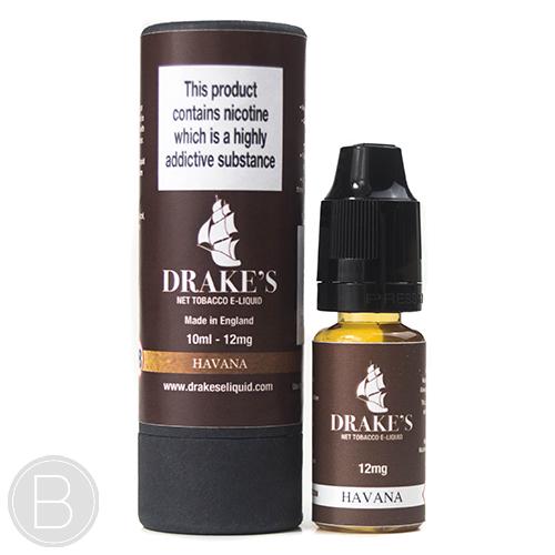 Drakes E-liquid - Havana Cigar - 10ml E-Liquid