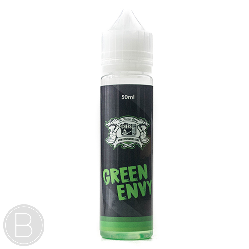 Chefs Vapour – Green Envy - 50ml 0mg Short Fill E-Liquid