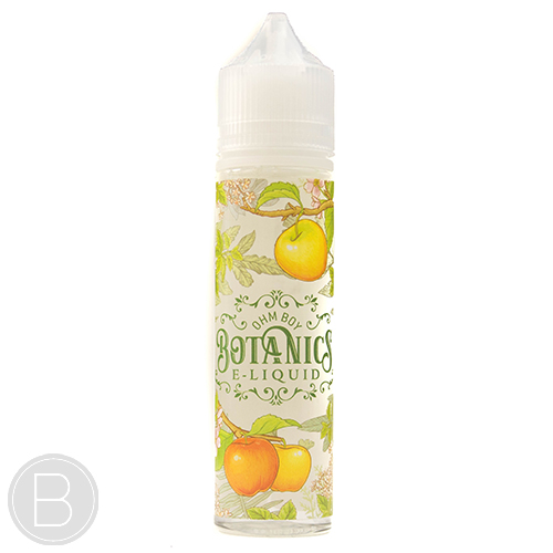 £15.00 - Ohm Boy Botanics - Gala Apple Elderflower and Garden Mint - 50ml 0mg Short Fill E-Liquid