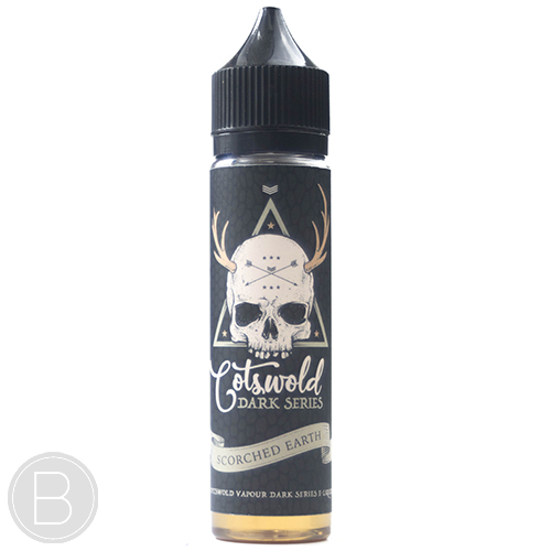 Cotswold Vapour Dark Series – Scorched Earth - 0mg 50ml Short Fill E-Liquid