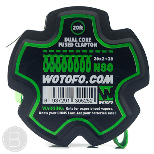 Wotofo Wire - N80 Fused Clapton