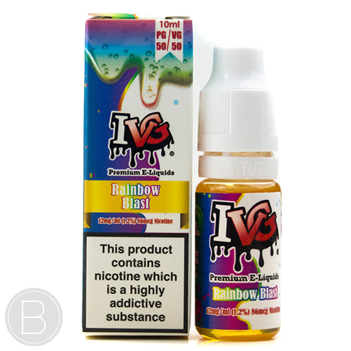 I VG - Rainbow Blast 50/50 - 10ml E-Liquid