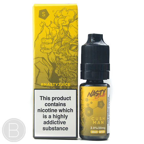 Nasty Juice Cush Man Nic Salts - 10ml E-Liquid - 20mg Nic Salts
