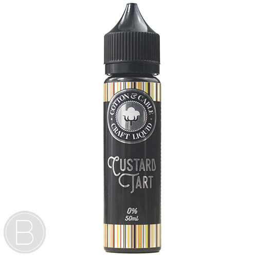 Cotton and Cable - Custard Tart - 0mg 50ml E-Liquid