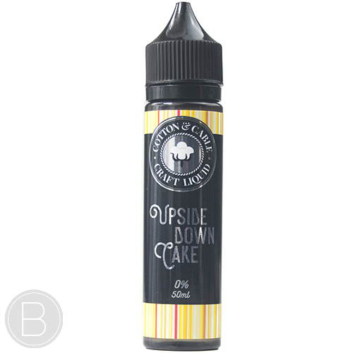 Cotton and Cable - Upside Down Cake - 0mg 50ml E-Liquid