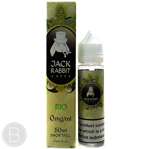 Jack Rabbit Vapes - Rio - 0mg - 50ml e-liquid - BEAUM VAPE