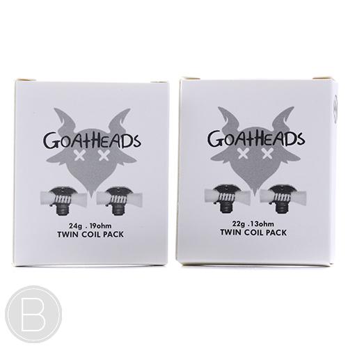 GOATHEADS Twin Coil Pack - 22g 0.13 / 24g 0.19 - BEAUM VAPE