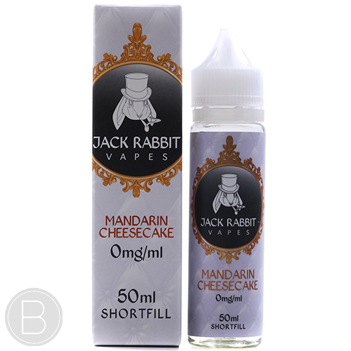 Jack Rabbit - Mandarin Cheesecake - 0mg 50ml E-liquid - BEAUM VAPE