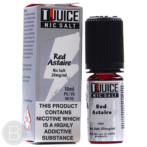T-Juice Salts - Red Astaire - 10ml E-Liquid - 50/50 PG/VG - BEAUM VAPE