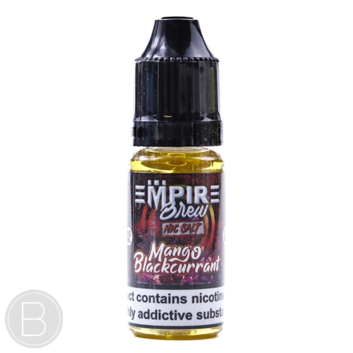 Empire Brew nic Salt - Mango Blackcurrant - 20mg 10ml E-Liquid - BEAUM