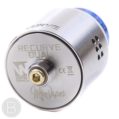 Wotofo Recurve Dual RDA - 24mm - BF Squonk Pin - BEAUM VAPE