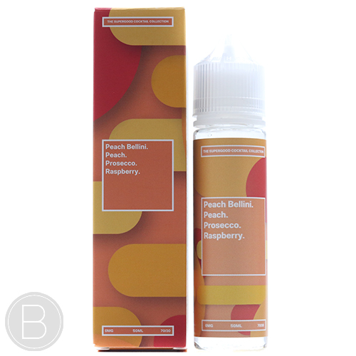 Supergood. - Peach Bellini - 50ml Short Fill E-Liquid - BEAUM VAPE