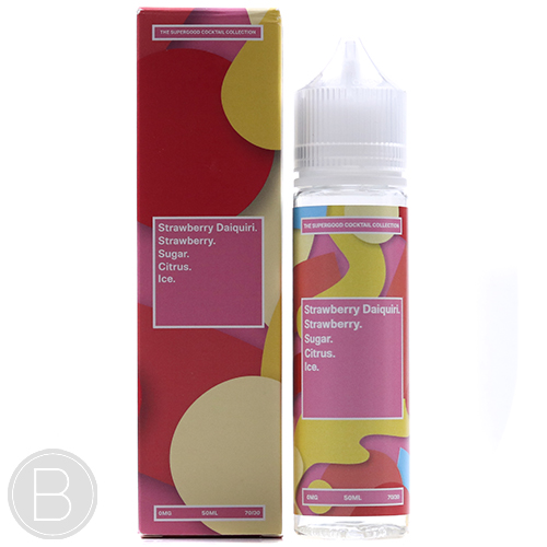 Supergood. - Strawberry Daiquiri - 50ml Short Fill E-Liquid - BEAUM VAPE