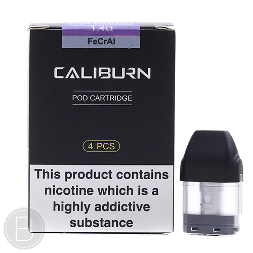 Uwell - Caliburn Pods - 4 Pack - 1.4Ω - BEAUM VAPE