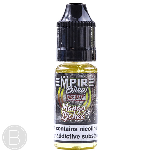 Empire Brew nic Salt - Mango Lychee - 20mg 10ml E-Liquid - BEAUM