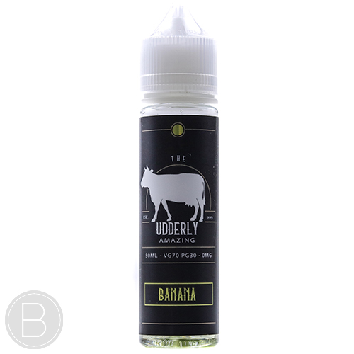 The Udderly Amazing - Banana - 50ml E-Liquid - BEAUM VAPE