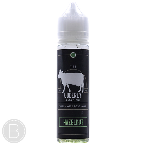 The Udderly Amazing - Hazelnut - 50ml E-Liquid - BEAUM VAPE