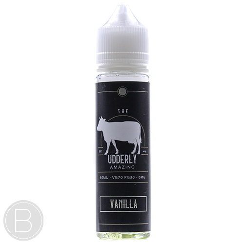 The Udderly Amazing - Vanilla - 50ml E-Liquid - BEAUM VAPE