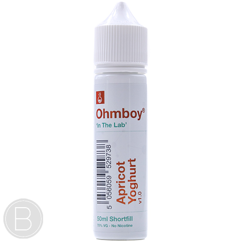 Ohm Boy - Apricot Yoghurt - 50ml Short Fill E-Liquid - BEAUM VAPE