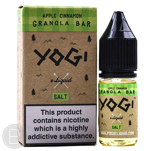 YOGI Salt - Apple Cinnamon Granola Bar - 20mg 10ml - BEAUM