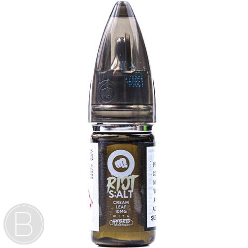 Riot S:ALT - Cream Leaf - Hybrid Nicotine E-liquid - BEAUM VAPE