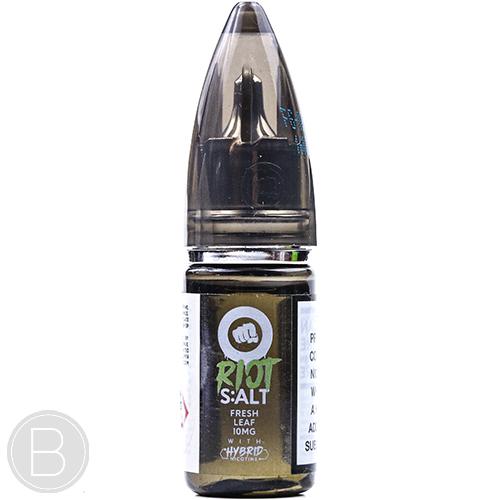 Riot S:ALT - Fresh Leaf - Hybrid Nicotine E-liquid - BEAUM VAPE
