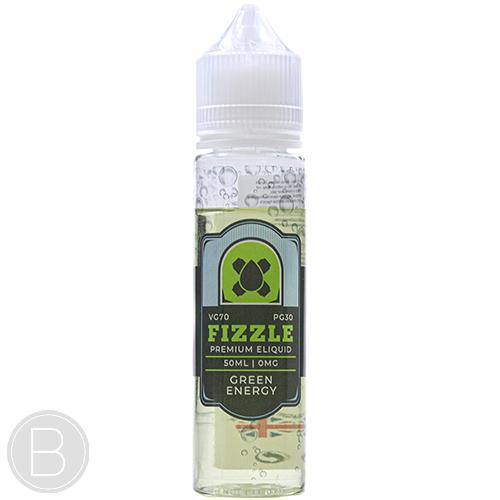 Fizzle Juice - Green Energy - 50ml Shortfil E-Liquid - BEAUM VAPE