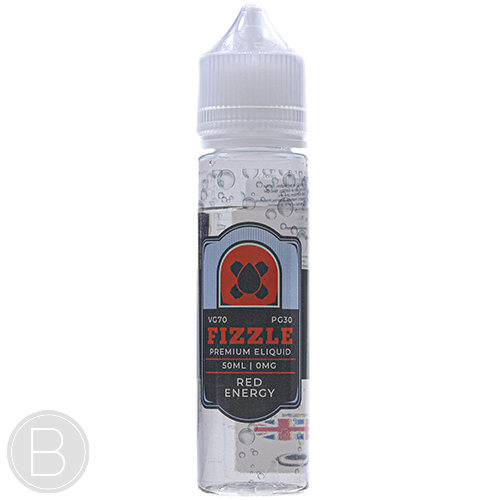 Fizzle Juice - Red Energy - 50ml Shortfil E-Liquid - BEAUM VAPE