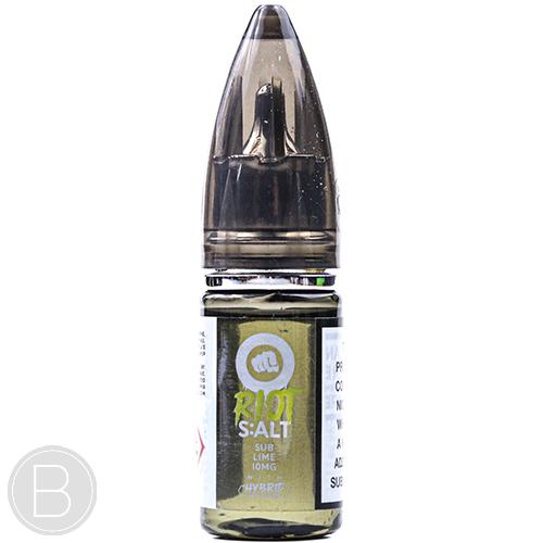 Riot S:ALT - Sub Lime - Hybrid Nicotine E-liquid - BEAUM VAPE