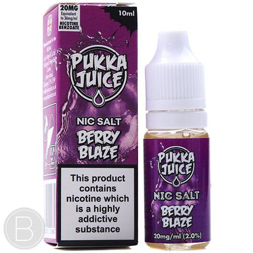 Pukka Juice Nic Salt - Berry Blaze - Nicotine Salt E-liquid - BEAUM VAPE