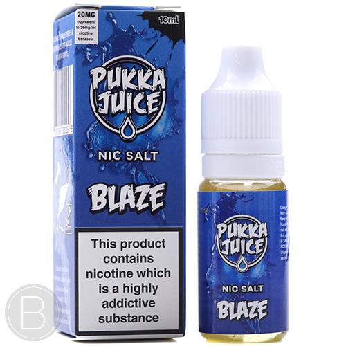 Pukka Juice Nic Salt - Blaze - Nicotine Salt E-liquid - BEAUM VAPE