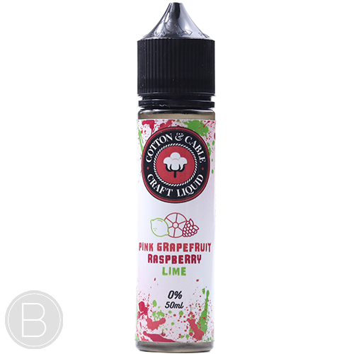 Cotton and Cable - Pink Grapefruit Raspberry Lime - 50ml - BEAUM VAPE