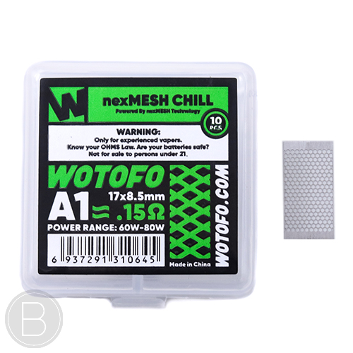 Wotofo - nexMESH Coils - Pack of 10 - BEAUM VAPE