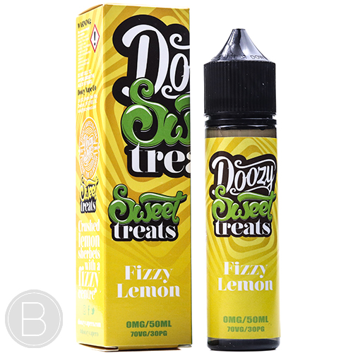 Doozy Vape - Fizzy Lemon - 50ml Shorftill - BEAUM VAPE