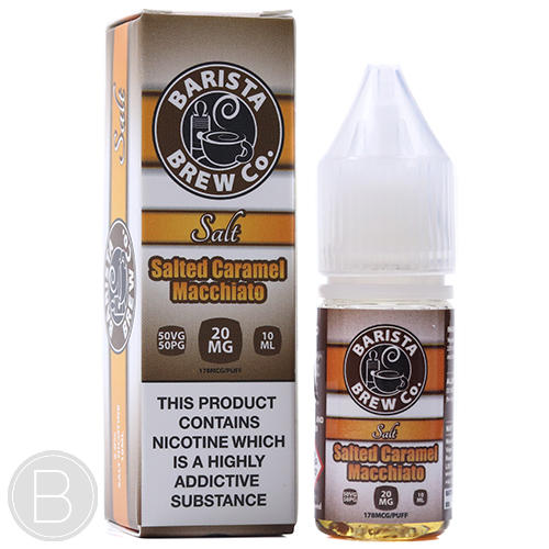 Barista Brew Co Salt - Salted Caramel Macchiato - BEAUM VAPE