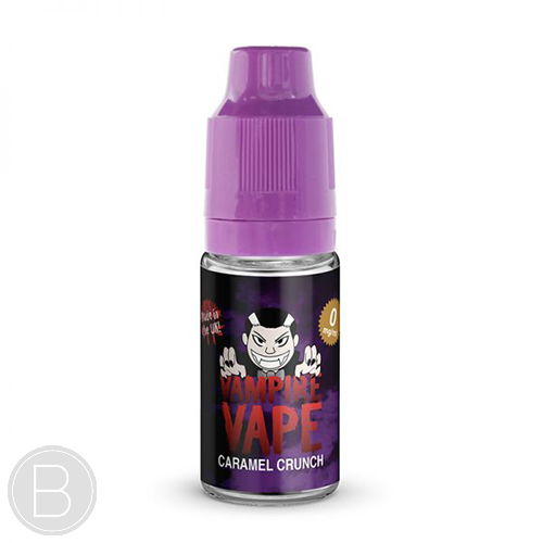 Vampire Vape - Caramel Crunch - 10ml E-Liquid - BEAUM VAPE
