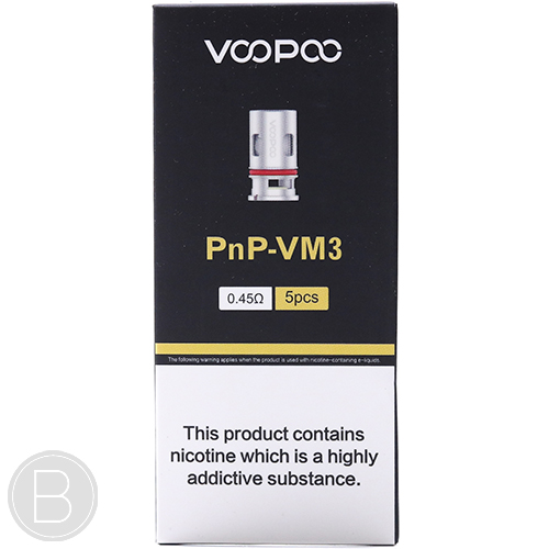 VooPoo - PnP Replacement Coils - Pack of 5 - BEAUM VAPE